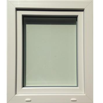 Draaikiepraam SP0706 links PVC eco 78x66 cm U=1,1