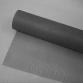 Toile moustiquaire en rouleau Fikszo 100 cm gris par 10 cm