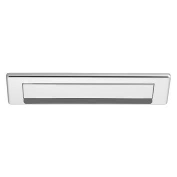 Plaque de boîte aux lettres droite GAMMA aluminium
