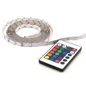 Prolight meerkleurige LEDstrip met afstandsbediening 160 Lm IP20 2 m