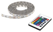 Prolight meerkleurige LEDstrip met afstandsbediening IP44 2 m
