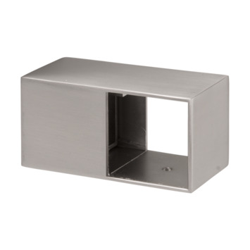 Support de rampe London B Cando inox 2 pièces