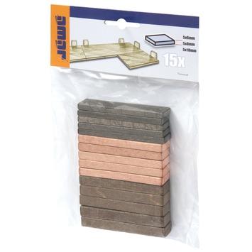 Dikteblokjes 6-8-10 mm 15 stuks