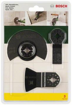 Bosch PMF-set tegels 3-delig