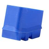 Pied arrière bleu 6-7 marches