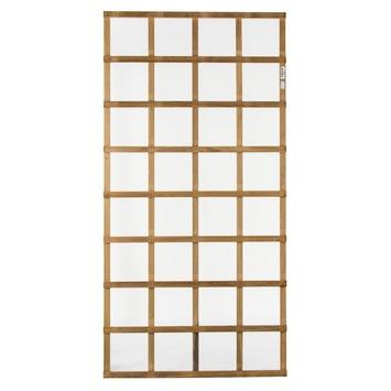 Treillis hardhout scherm 180x90 cm