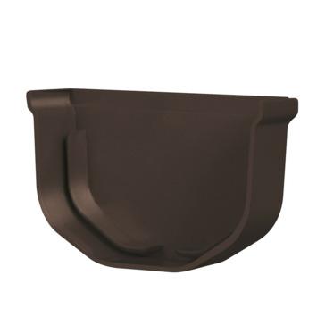 Fond de gouttière gauche mini Martens 65 mm brun