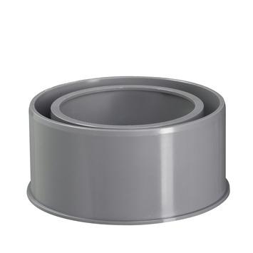 Réduction vers égout Martens 80x110 mm gris
