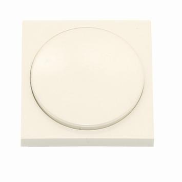 Bouton rotatif pour variateur halogène Niko crème