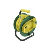 Enrouleur de câble Exin jaune/vert 3x 1,5 mm² 50 m