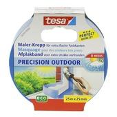Tesa afplaktape voor buiten 25 m x 25 mm
