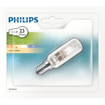 Philips ecohalogeen lamp voor dampkap E14 204 lumen 18W = 23W