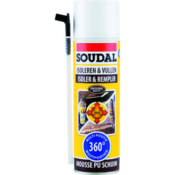 Soudal mousse PU multi-pos 510 ml