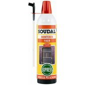 Mousse PU 2 composants Soudal 400 ml
