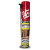 Mousse PU Soudal 500+250 ml