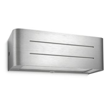 Philips myLiving Ebony wandlamp aluminium