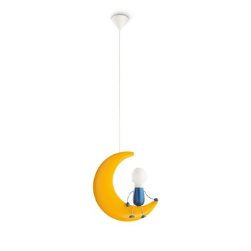Suspension Lunardo Philips MyKidsroom jaune