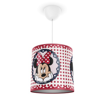 Philips Disney hanglamp Minnie Mouse rood