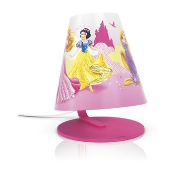 Lampe de table Disney Princess avec ampoule led Philips 4W rose