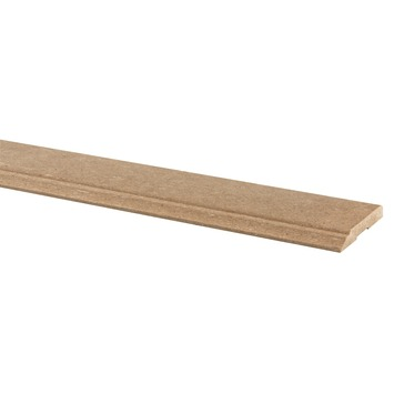 Deurlijst MDF bruin 12x70 mm 210 cm