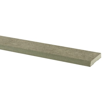 Deurlijst MDF groen pefc waterwerend 13x70 mm 220 cm