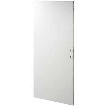 OK binnendeur board wit met slot 201,5x73 cm
