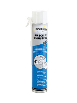 Mousse colle PU Recticel 750 ml