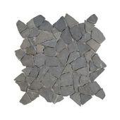 Mosaïque nature noir 30x30 cm 0,09 m²