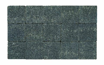 Kasseien Beton Getrommeld Zwart 15x15x6 cm - 120 Stuks / 2,76 m2