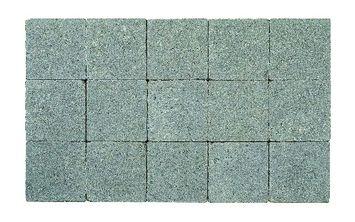 Kasseien Beton Getrommeld Licht Grijs 15x15x6 cm - 120 Stuks / 2,76 m2
