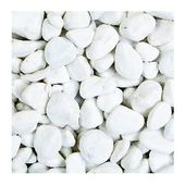 15 witte steentjes