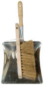 Pelle métal avec balayette coco