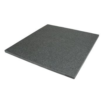 Dalle de terrasse céramique Diamond 60x60x2 cm noir