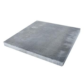 Dalle de terrasse Broadway 60x60x4,7 cm gris nuancé par palette