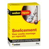 Weber snelcement 2 kg