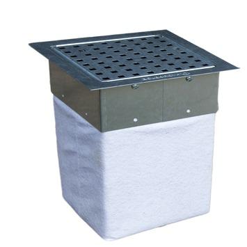 Puits d'infiltration avec grille galva IP15 Hydroblob 20x20x33 cm 15 litres
