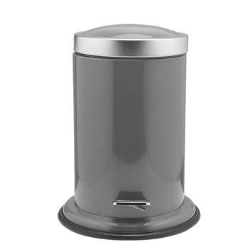 Poubelle salle de bain Acero Sealskin gris