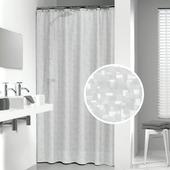Rideau de douche Perle Sealskin 180x200 cm transparent PVC