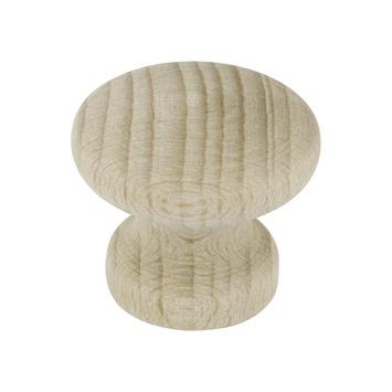 Bouton de meuble Sophie 30 mm hêtre