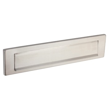 GAMMA briefplaat recht inox