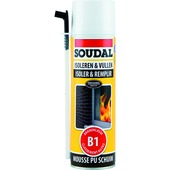 Soudal PU schuim brandvertragend 500 ml