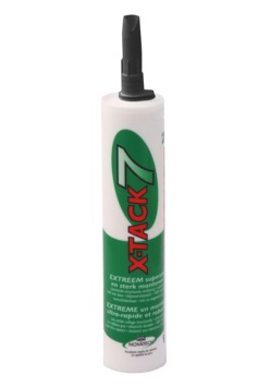 Tec7 X-Tack montage- en afdichtingskit zwart 290 ml