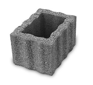 Jardinière béton 30x40x25 cm anthracite