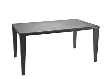 Tafel Alpha 150x90 cm antraciet