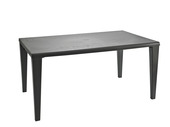 Table Alpha 150x90cm anthracite