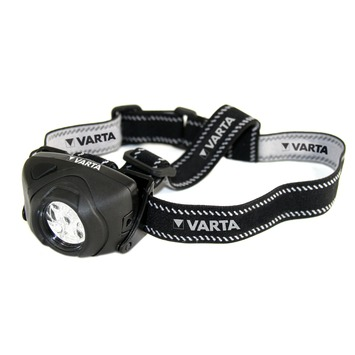 Lampe frontale LED Varta Indestructible piles 2xAAA non comprises