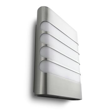 Applique extérieure Raccoon Philips LED intégrée 3W 270 lumens inox
