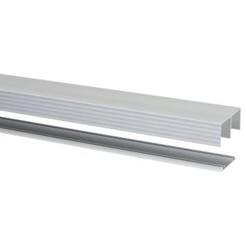 Rail pour portes coulissantes Storemax R40 180 cm aluminium