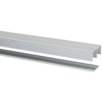 Storemax rail voor schuifdeuren R40 in aluminium 240 cm