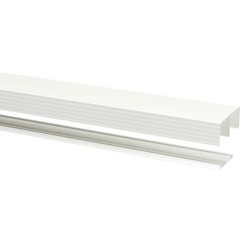 Rail pour portes coulissantes Storemax R40 240 cm blanc